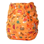 Bummis Tots Bots Easy Fit One Size Cloth Diaper Snap NEW