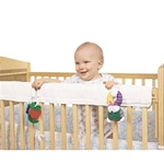 Leachco Organic Easy Teether Crib Rail Cover Ivory