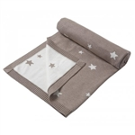 Mamas and Papas Beige Star Blanket