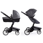 Mima Xari Stroller - Cool Grey with Black Frame