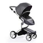 Mima Xari Stroller - Cool Grey with Silver Frame