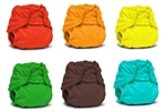 Rumparooz One Size Diaper Covers - Snap - 6 Pack