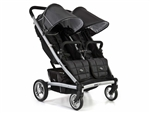 Valco Baby Zee Two Double Stroller - Jet