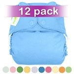 bumGenius 4.0 One-Size Stay-Dry Cloth Diaper Snap 12 Pack
