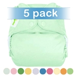 bumGenius 4.0 One-Size Stay-Dry Cloth Diaper Snap 5 Pack