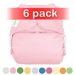 bumGenius 4.0 One-Size Stay-Dry Cloth Diaper Snap 6 Pack