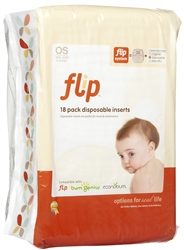 bumGenius Flip Disposable Inserts - 18 Pack