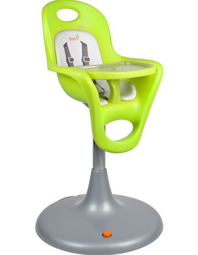 Boon Flair Pedestal High Chair Green Seat and White Pad (Kiwi Seat + C  sc 1 st  Dainty Baby & Boon Flair Pedestal Highchair | DaintyBaby.com