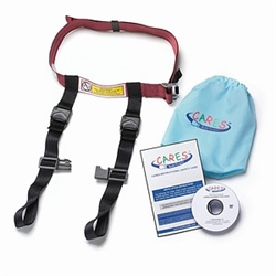 Kids Fly Safe Cares Child Aviation Restraint System