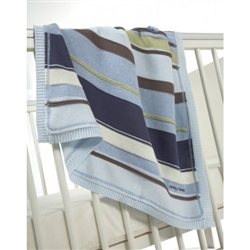 Mamas and Papas Knitted Cotton Blanket