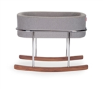 Monte Rockwell Bassinet Grey