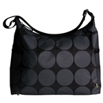 OiOi Charcoal Dot Hobo