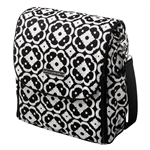 Petunia Pickle Bottom Boxy Diaper Bag Licorice Blossoms