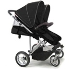 Stroll-Air My Duo Double Stroller Black