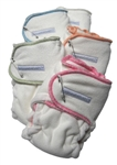 Sustainablebabyish Snapless-Multi Fitted Cloth Diapers