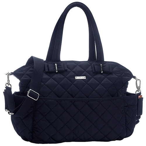 688cf5e59e84 Storksak Bobby Quilted Diaper Bag