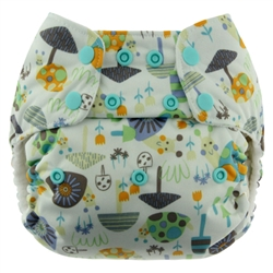 Blueberry Simplex One Size  All-in-One Cloth Diapers